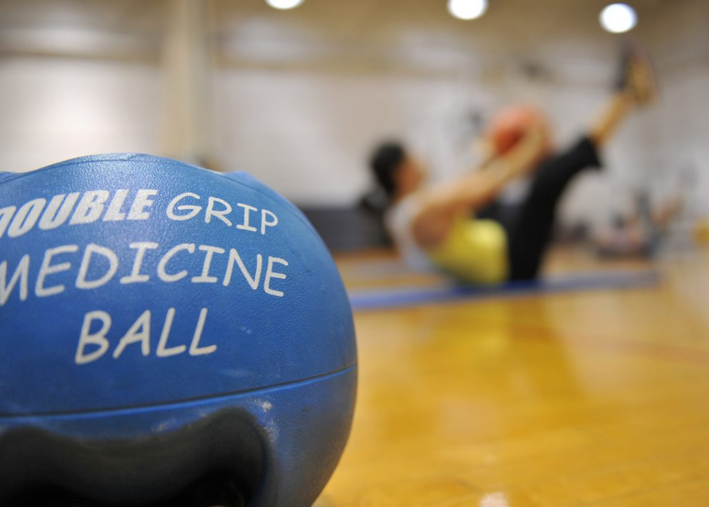 AmazonBasics Medicina Ball at Amazon
