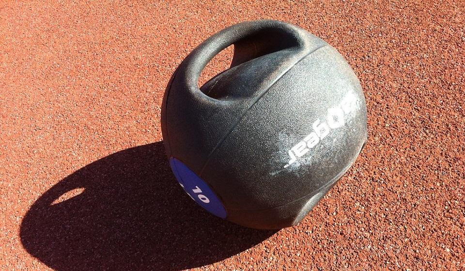 illiard Double-Grip Medicine Ball Review