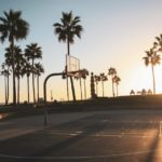 how to make outdoor basketball court